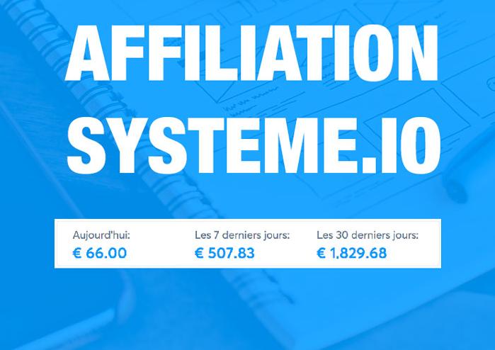 Affiliation Sio.3 est la formation de base pour réussir dans l'affiliation Systèmeio en partant de zéro