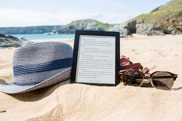 Les ebooks sont faciles à transporter sur un support numérique