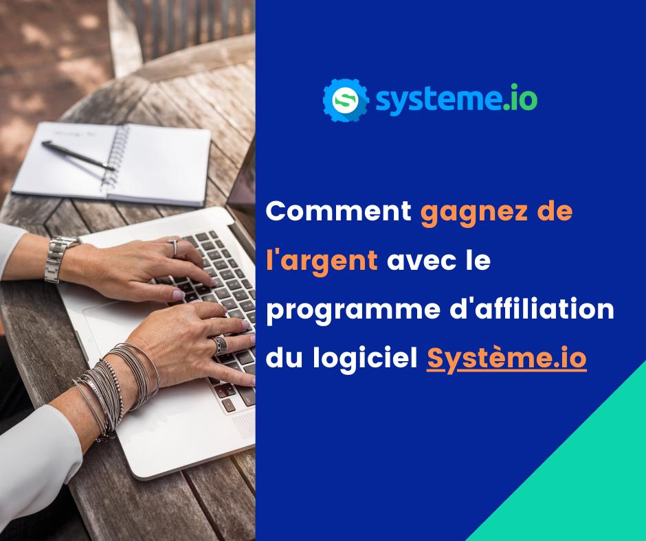Systeme io est un outil marketing pour gérer un business sur internet