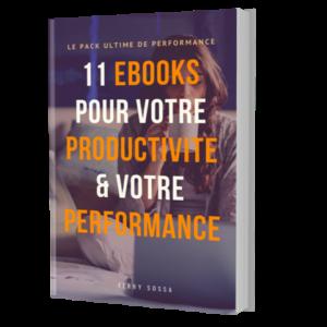 11 ebooks libres de droit, revendable sur la confiance en soi et la productivité